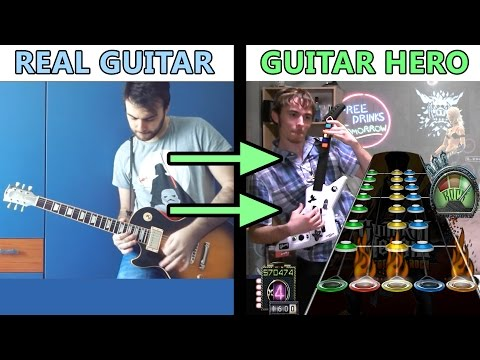 """All GH3 Riffs on a Real Guitar"" song 100% FC'd on Guitar Hero 3! (+Chart Download)"