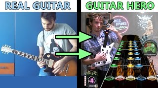 """""""All GH3 Riffs on a Real Guitar"""" song 100% FC'd on Guitar Hero 3! (+Chart Download)"""