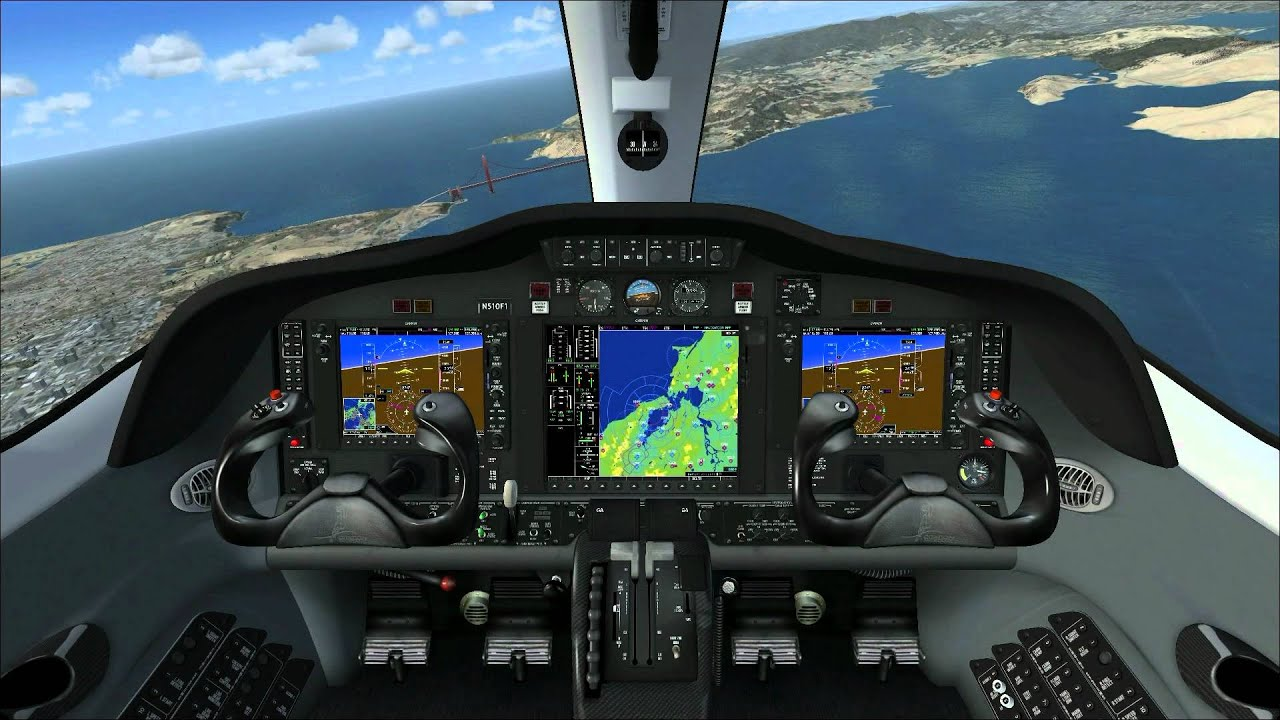 Flight simulator 2017 eaglesoft cessna citation ii ...