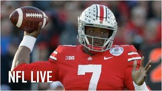 Will the Broncos take Dwayne Haskins with the 10th overall pick at the 2019 NFL Draft? | NFL Live