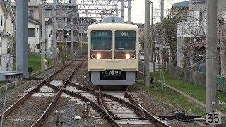 むか~し「高根公団」行きがあった時に折り返していた渡り線は今も健在! 新京成電鉄
