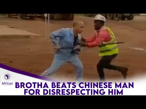 Brotha Shows Off His Karate Skills To A Chinese Man Who Tried To Disrespect Him