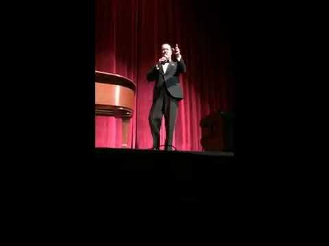 Jamie Hitchcock sings Frank Sinatra ~ Spotlight at Visalia Fox Theatre