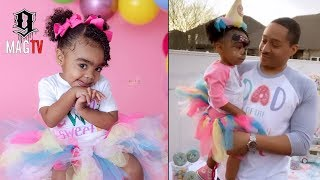 Toya & Robert Rushing Daughter Reign Celebrates Her 2nd B-Day! 🎂