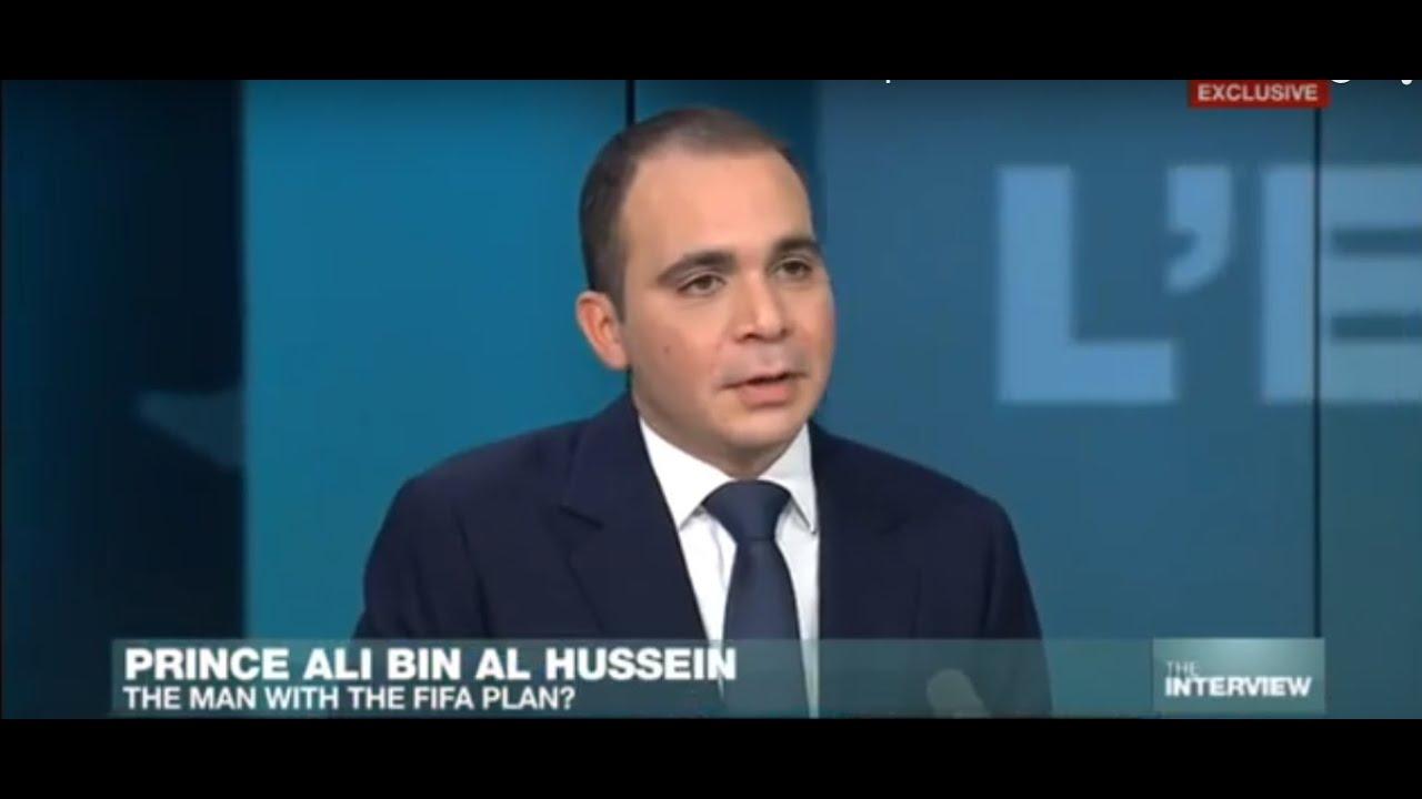 فرانس 24: Exclusive interview with Prince Ali Bin al Hussein: the man with the plan for FIFA?