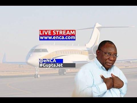 LIVE: Defence Minister addresses Gupta plane saga