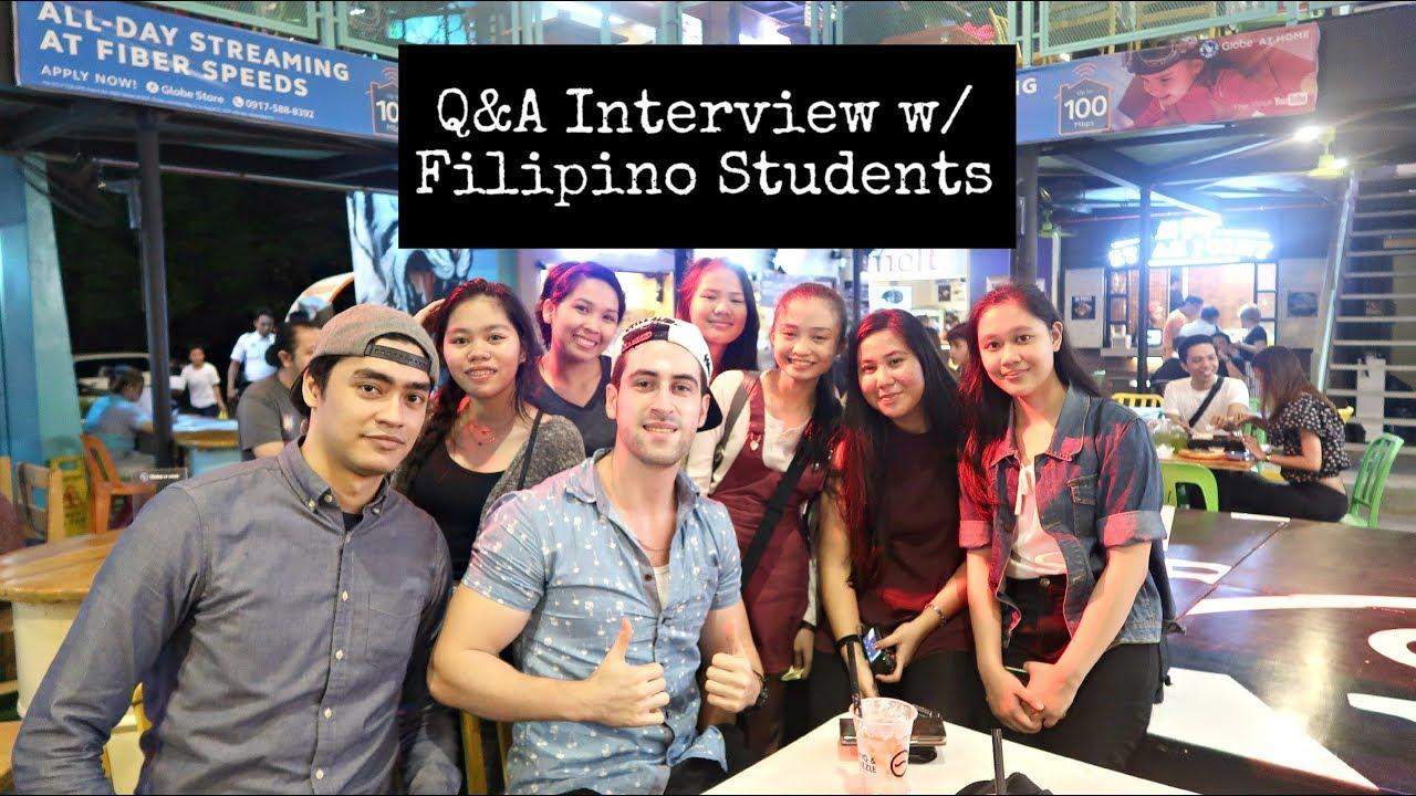 UNEXPECTED Q&A Interview!! | Meet my half Arab-Filipino