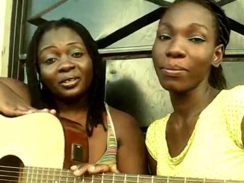 Nyota ndogo and her sister singing nibebe
