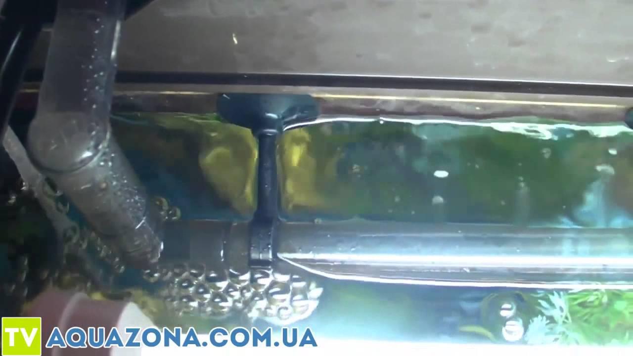 Aquael UNIMAX 700 - наружный фильтр в аквариум - YouTube