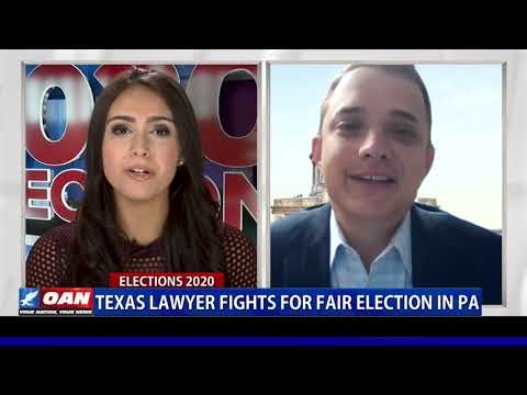 Texas lawyer fights for fair election in Pa.