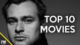Top 10 Christopher Nolan movies
