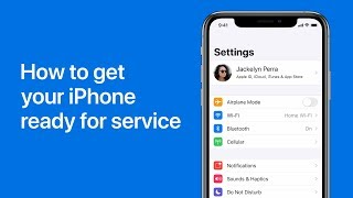 How to get your iPhone ready for a repair – Apple Support