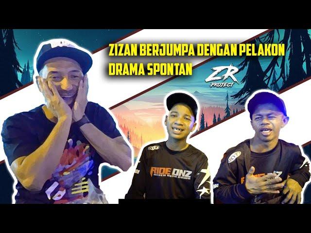ZR PROJECT | Zizan berjumpa dengan pelakon drama spontan