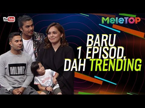 Baru 1 episod drama Encik Imam Ekspress dah trending no 2  MeleTOP  Nabil & Neelofa