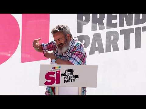 Discurso J M Sánchez Gordillo en el no-acto de la CUP a Terrassa