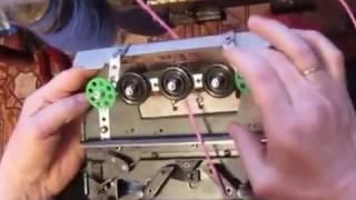 Вязание спицами  крючком и на вязальной машине через иглу