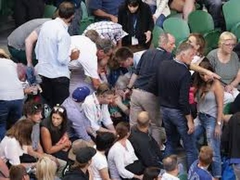 Andy Murray's father-in-law Nigel Sears taken to hospital after collapsing at the Australian Open