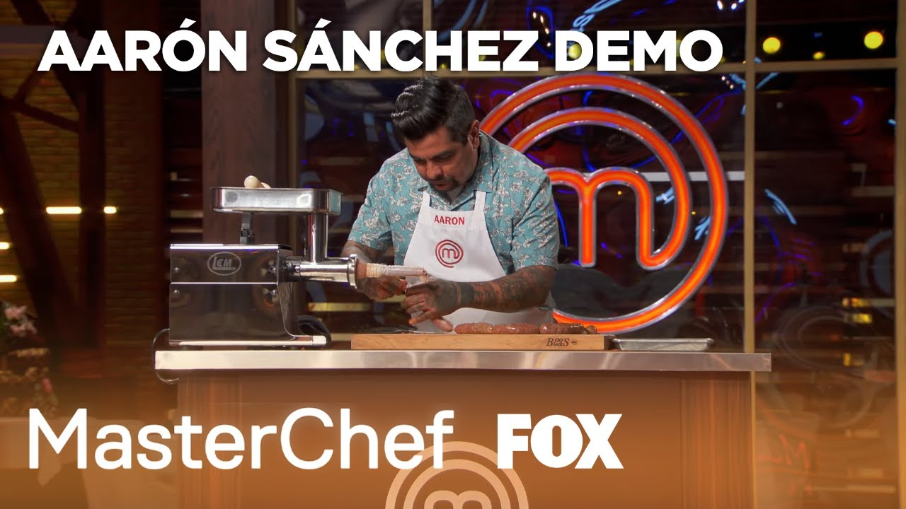 Cooking Demo: Chorizo Sausage (Extended) | Season 10 Ep. 19 | MASTERCHEF