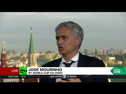 World Cup 2018. Russia - Saudi Arabia 5-0. Jose Mourinho Post Match Reaction
