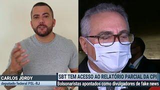 FUI INCLUÍDO NO RELATÓRIO DA CPI POR RENAN CALHEIROS
