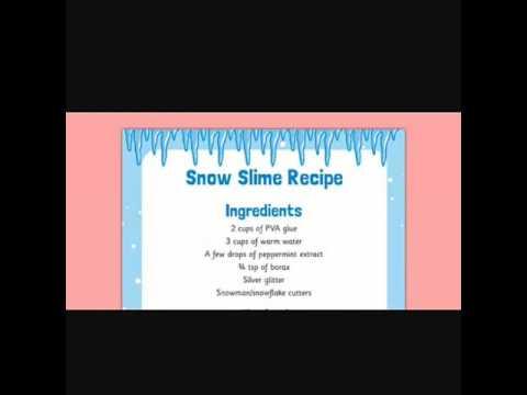 Slime recipe (malaysian) amanie