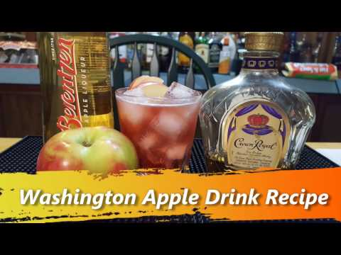Washington Apple Drink Recipe - The Famous Crown Royal Cocktails
