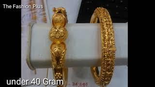 Gold 40 bangles designs gram Gold Bangles