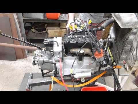 Austin 7 motor start