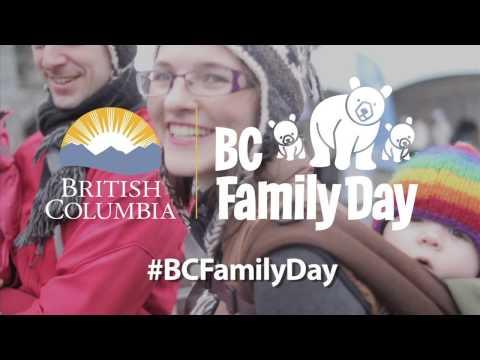 Celebrate BC Family Day!