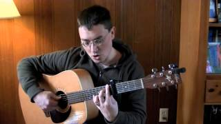"""Counting Crows """"Colorblind"""" guitar lesson"""