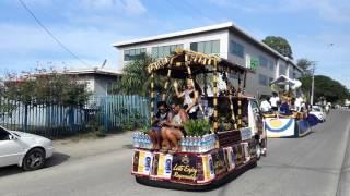 Miss Solomon Islands Pageant Float