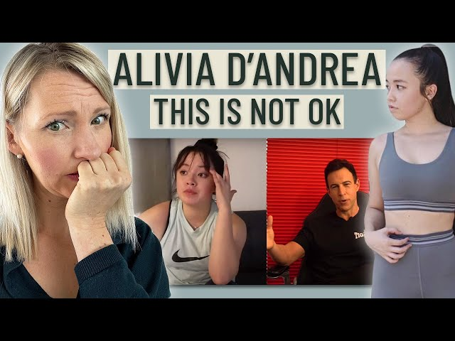 Dietitian Reacts to Alivia D'Andrea's Glow Up Diaries & Problematic Weight Loss Plan (OMG, NO!!)