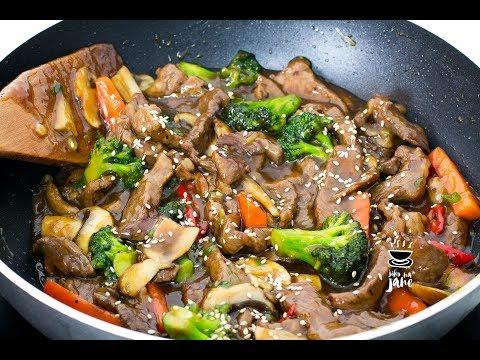 Teriyaki-Beef-Vegetable Stir Fry