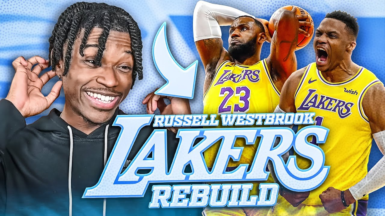 REBUILDING RUSSELL WESTBROOK AND THE LA LAKERS IN NBA 2K21