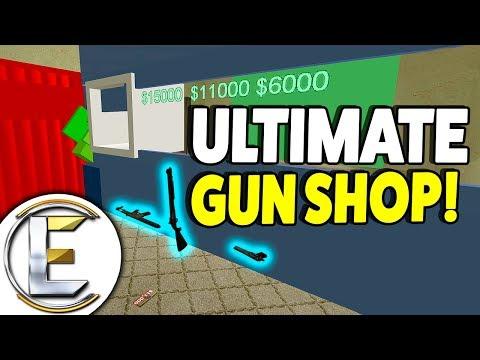 Ultimate Gun Shop - Gmod DarkRP Life (Made The Best Gun Shop Base Ever!)