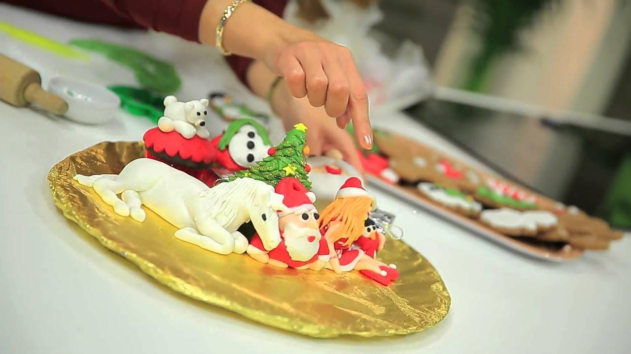 بسكويت بالعسل الأبيض للكريسماس - أكواب الشيكولاتة بكريمة الشيكولاتة : حلو وحادق حلقة كاملة