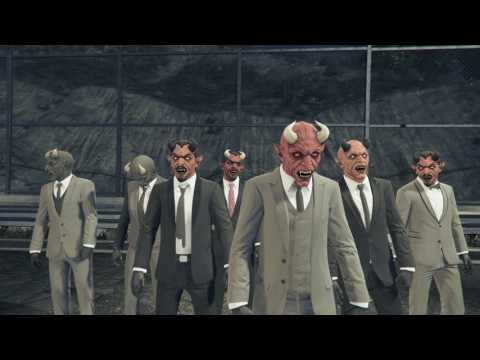 Grand Theft Auto V slasher mayhem nealy peed ma self scared!!!