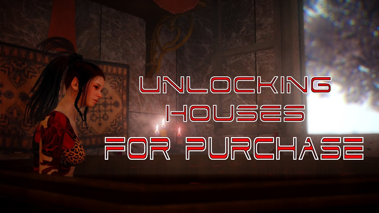 BLACK DESERT ONLINE: BDO - UNLOCKING HOUSES FOR PURCHASE