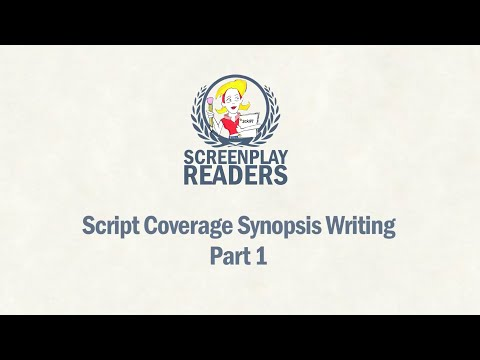 Script Coverage Synopsis Writing Part 1