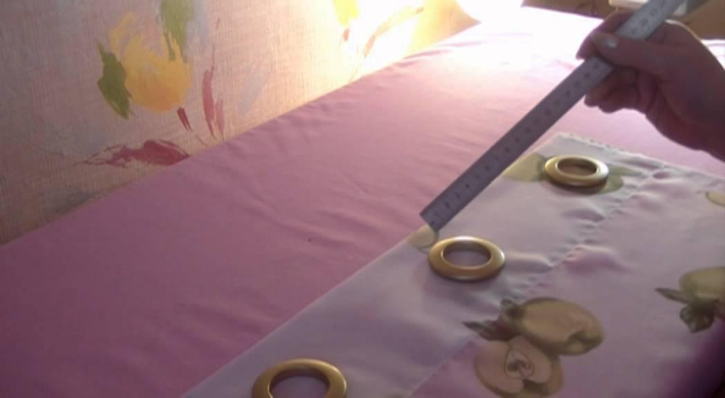 Как сделать люверсы на шторы в домашних условиях 5