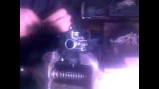 Восстанавливаем штуцер патрубка вакуумного насоса