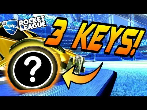 Rocket League Trading - TOP 5 ITEMS UNDER 3 KEYS! - Crate Items, Painted Wheels (+ 1v1 Goals) thumbnail