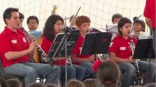 Interpretación Concert Band Colegio Panamericano COVER-JUST DANCE