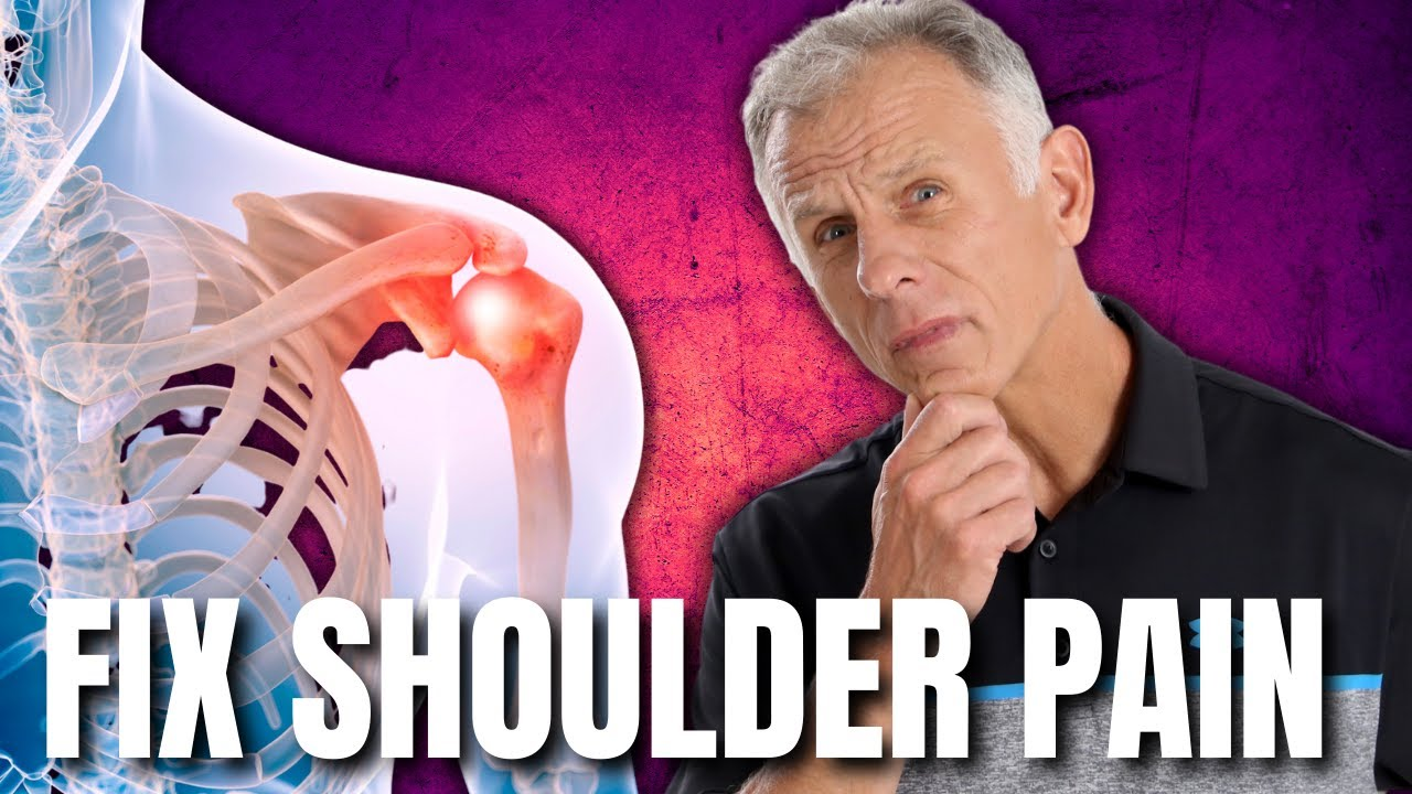 Shoulder Pain Fix By Hanging From A Bar Impingement Cuff Tear Etc