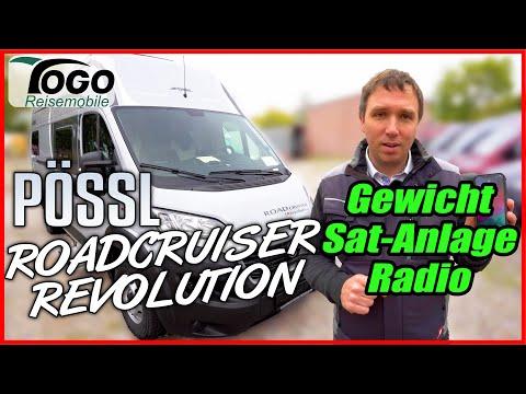 🔎GEWICHT, PREIS & AUSSTATTUNG🔌Pössl Roadcruiser Revolution 2021 | TOGO REISEMOBILE