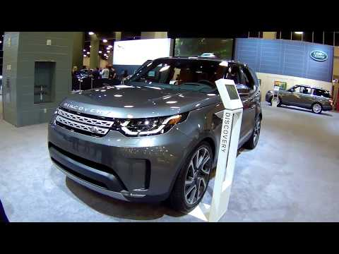 2019 Land Rover Discovery, Walk Around and Interior, at Miami Beach Auto Show