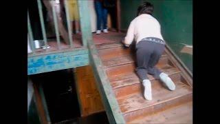 Девушка-инвалид из Суоярви