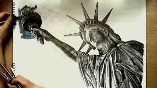 Realistic Drawing: Statue of Liberty