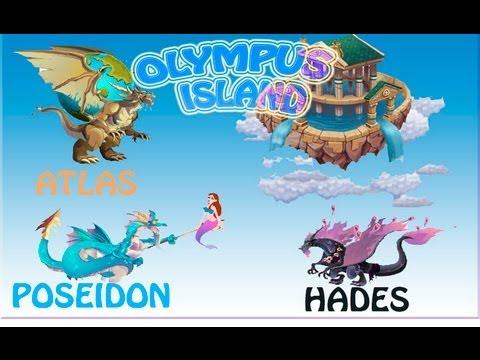 Dragon City - DRAGON POSEIDON, HADES, ATLAS Y DEPREDADOR