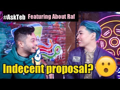 ASK TEB feat. ABOUT RAF - INDECENT PROPOSAL?? | STEVEN BANSIL
